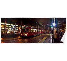 San Diego Night Trolley Poster