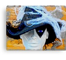 Lady in a Hat Canvas Print