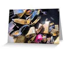 Loads of locks Greeting Card
