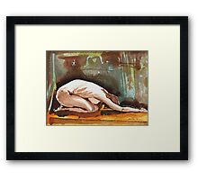 Joelle the Imploring Nude Framed Print