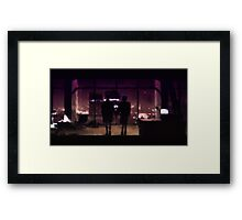Love n mayhem (Fight Club) Framed Print
