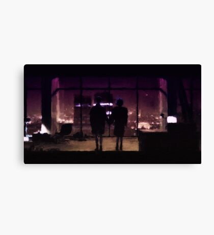 Love n mayhem (Fight Club) Canvas Print