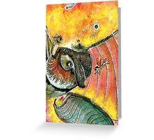 Colibri and company Greeting Card