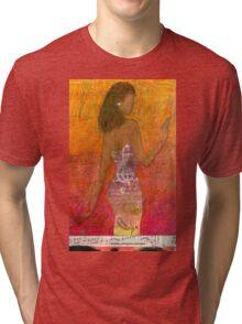Dancing Lady T-Shirt Tri-blend T-Shirt