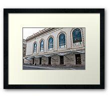 Brooklyn Academy of Music [BAM] Framed Print