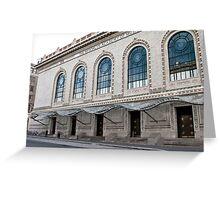Brooklyn Academy of Music [BAM] Greeting Card