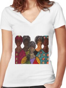 Five Alive T-Shirt Women's Fitted V-Neck T-Shirt
