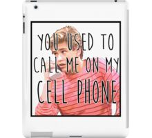 Zack Morris Cell Phone iPad Case/Skin
