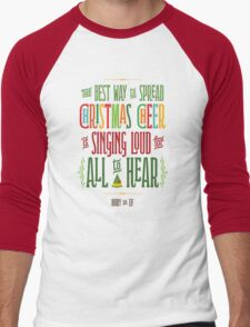 Buddy the Elf - Christmas Cheer Men's Baseball ¾ T-Shirt
