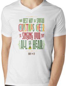 Buddy the Elf - Christmas Cheer Mens V-Neck T-Shirt