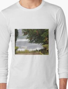 Donegal Peace  Lough Eske- Donegal Ireland Long Sleeve T-Shirt