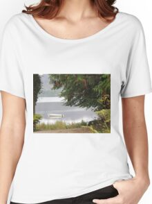 Donegal Peace  Lough Eske- Donegal Ireland Women's Relaxed Fit T-Shirt