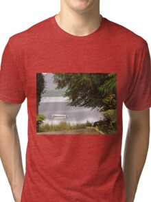 Donegal Peace  Lough Eske- Donegal Ireland Tri-blend T-Shirt