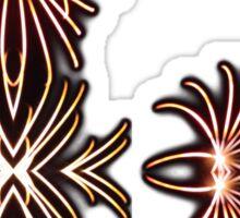 Firework Webs Sticker