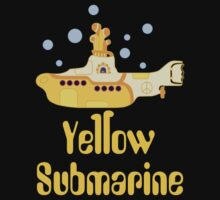 My Yellow Submarine - Every One Of Us Has All We Need Kids Clothes