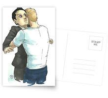 Post-Reichenbach Hug Postcards