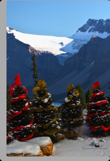 Christmas in the Canadian Rockies by Yannik Hay