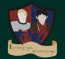 The Shield of Merlin & Arthur  by Anglofile