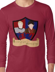 The Shield of Merlin & Arthur  Long Sleeve T-Shirt