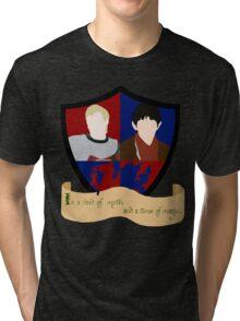 The Shield of Merlin & Arthur  Tri-blend T-Shirt