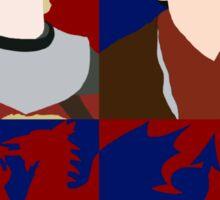 The Shield of Merlin & Arthur  Sticker