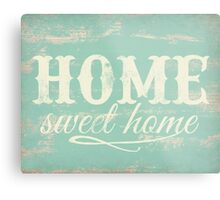 Home sweet home art print Metal Print