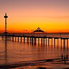 Spectacular Sunset at Brighton Jetty by BenClarkImagery