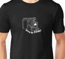 Ikonta - Vive le Film! - White Line Art Unisex T-Shirt