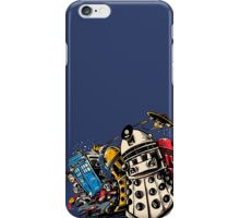 No Time to Wait, Let's Exterminate! iPhone Case/Skin