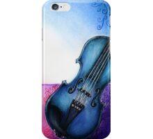 Blue Violin iPhone Case/Skin