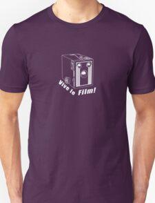 Six Twenty -  Vive le Film! - White Line Art T-Shirt
