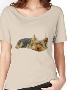 Cute Yorkshire terrier Women's Relaxed Fit T-Shirt