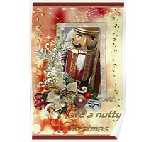 Have a nutty Christmas Poster