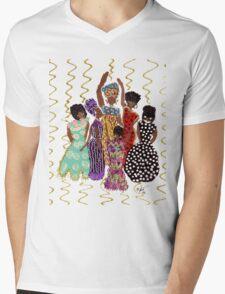 Party T-Shirt Mens V-Neck T-Shirt