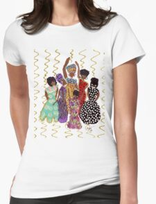 Party T-Shirt Womens Fitted T-Shirt
