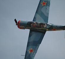 Yak-52 Banked Flypast @ Barossa Airshow 2011 by muz2142