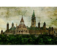 The Library on The Hill Photographic Print