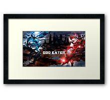God Eater Swords and lovers  Framed Print