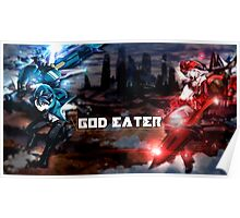 God Eater Swords and lovers  Poster