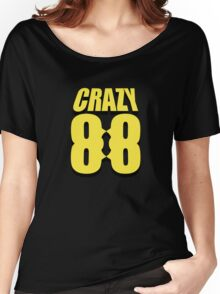 Crazy 88 Masks & Shadow (yellow) Women's Relaxed Fit T-Shirt
