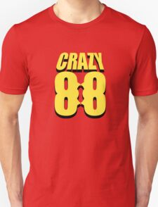 Crazy 88 Masks & Shadow (yellow) Unisex T-Shirt