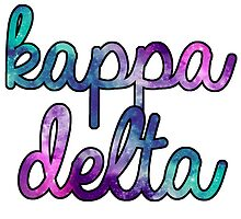Kappa Delta Galaxy by trendysticks