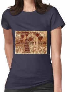 Sepia Sisters T-Shirt Womens Fitted T-Shirt