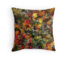 Pomegranates in the fog Throw Pillow