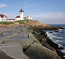 Eastern Point Lighthouse, Massachusetts by Jeremy D'Entremont