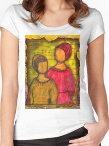 Soul Sistahs T-Shirt Women's Fitted Scoop T-Shirt