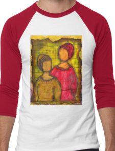 Soul Sistahs T-Shirt Men's Baseball ¾ T-Shirt