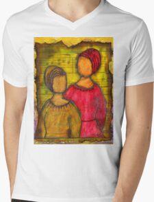 Soul Sistahs T-Shirt Mens V-Neck T-Shirt