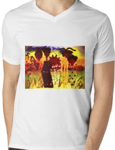 Southern Sisters T-Shirt Mens V-Neck T-Shirt