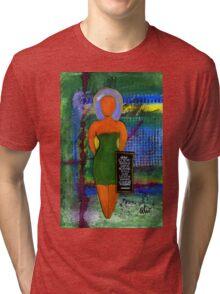 STANDING 4 Something T-Shirt Tri-blend T-Shirt